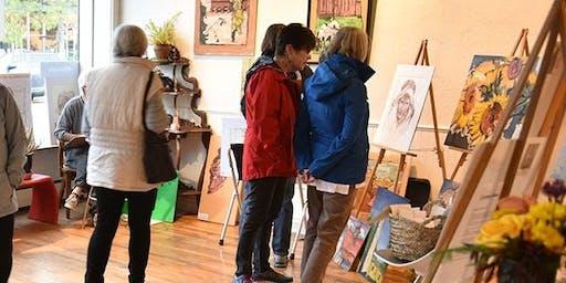 First Friday Art Walks on South Pearl Street, Platt Park - Denver