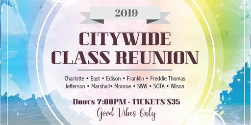 CKES presents CITYWIDE Class Reunion