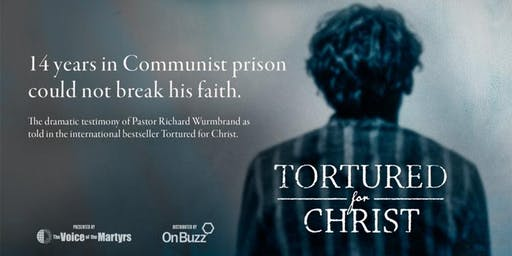 Tortured for Christ - The Movie - Dannevirke Screening
