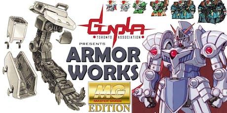GTA's Armor Works: MASTER GRADE EDITION tickets