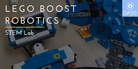 Mini Camp- Intro. to LEGO Boost Robotics tickets