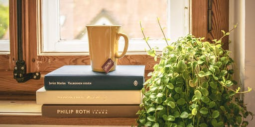 Book-Lovers' Morning Tea, Ages 50+, FREE