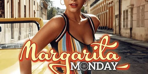 $5 MARGARITAS $5 SANGRIA : MONDAYS AT THE HIVE BUCKHEAD : HAPPY HOUR ALL DAY . MARGARITA MONDAYS
