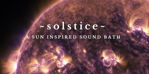 ~SUMMER SOLSTICE~ An Expansive Sound Healing Bath