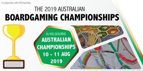 2019 Australian Boardgaming Championships tickets