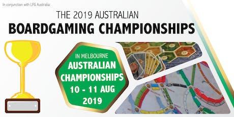 2019 Australian Boardgaming Championships tickets
