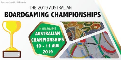2019 Australian Boardgaming Championships