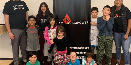 Camp We Empower: Mini Series graded K-7 tickets