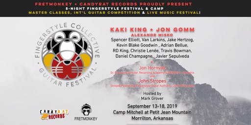Fingerstyle Collective Guitar Festival with Jon Gomm and Kaki King