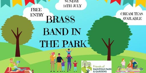 Radipole Gardens Brass Band in the Park