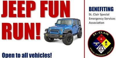 Jeep Fun Run for St Clair Special Emergency Services