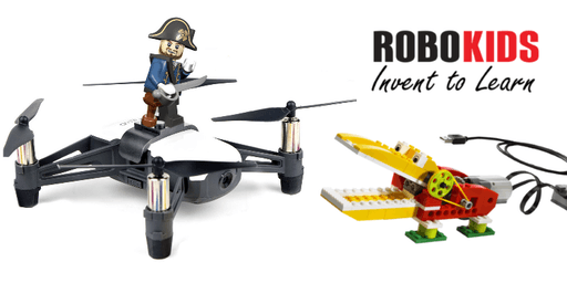 (6-8 Yrs)Dual Tech Camp: LEGO meets Drone