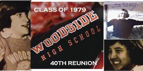 Woodside High School Class of 1979 40th Reunion tickets