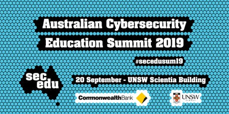 Australian Cybersecurity Education Summit 2019 tickets