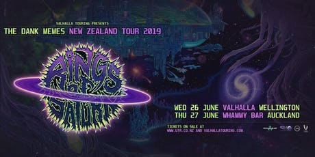 Rings Of Saturn - Dark Memes NZ Tour, Wellington tickets