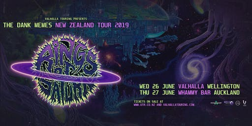 Rings Of Saturn - Dark Memes NZ Tour, Wellington