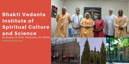 Saturday Kirtan/Meditation/Discussion at Princeton Bhakti Vedanta Institute
