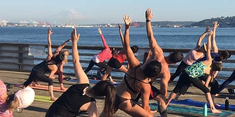 FREE Yoga on the Dock (& Rosé) tickets