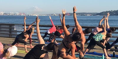 FREE Yoga on the Dock
