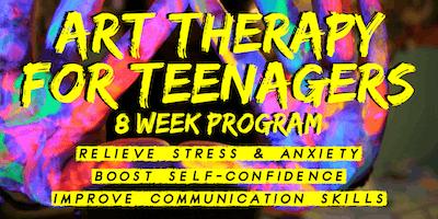 Art Therapy for Teenagers - 8 Week Program (Maryborough)