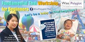 Fundamental Thai Conversation Workshop by WisePolyglot ...