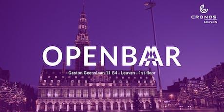 Openbar meetup 11 - CICD Kubernetes & IoT billets