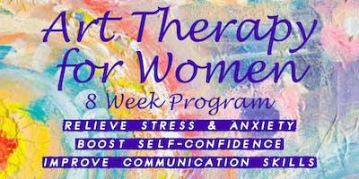 Art Therapy for Women - 8 Week Program (Maryborough)