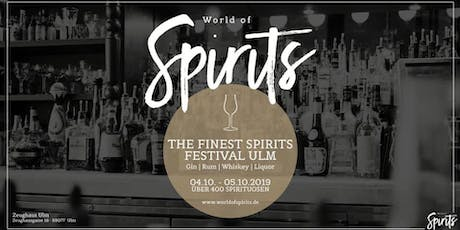 World of Spirits Festival ULM Tickets