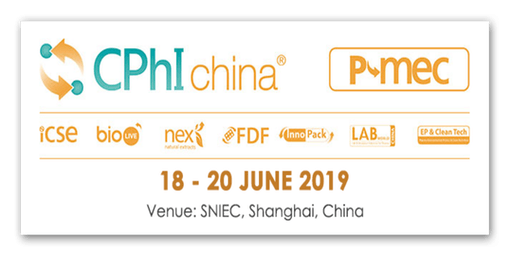CPhI china 2019 - Pharmaceutical event in Asia that covers all aspects of the pharmaceutical supply chain!