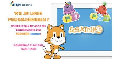 Leer programmeren met Scratch Junior