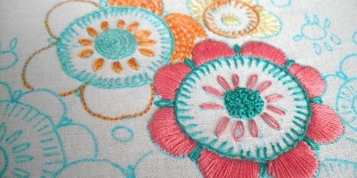 Community Learning - Embroidery - An Introduction - Sutton in Ashfield Library