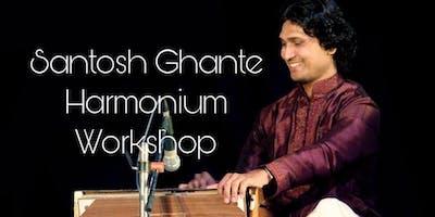 Intensive Workshop Harmonium & Santosh Ghante