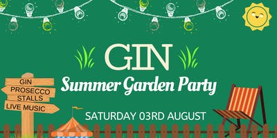 Bournemouth GIN Summer Garden Party