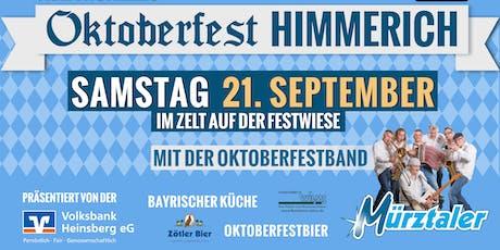 2.Oktoberfest auf der Himmericher Festwiesn Tickets
