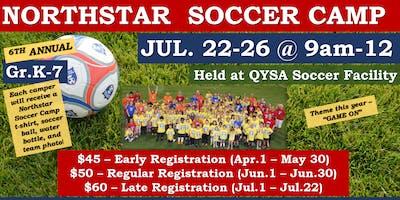 Northstar Soccer Camp 2019-Early Registration