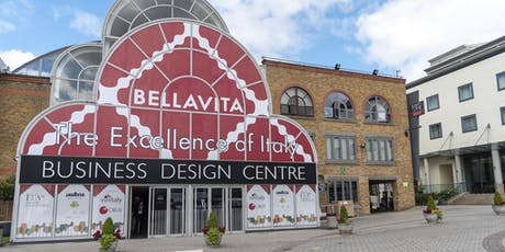 Bellavita Expo London 2019 - Mediterranean F&B Trade Show tickets