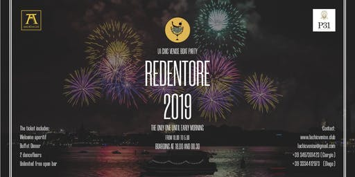 Redentore 2019 : La Chic Boat Party
