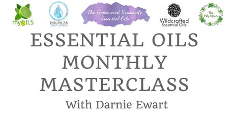 Essential Oils Monthly Masterclass - Winter Wellness tickets