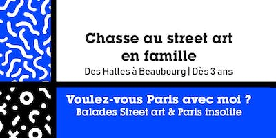 CHASSE AU STREET ART - Visite guidée Parents-Enfa