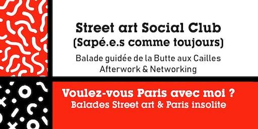 BALADE NETWORKING – STREET ART SOCIAL CLUB - Butte aux Cailles