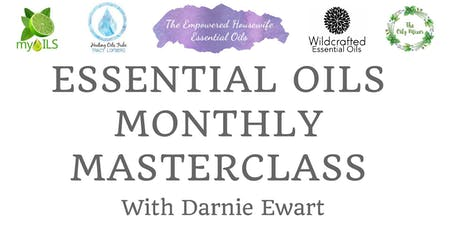 Essential Oils Monthly Masterclass - Christmas DYI and gift making tickets