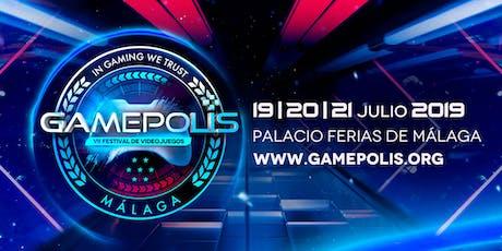 Gamepolis - VII Festival Videojuegos de Málaga entradas