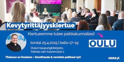 Kevytyrittäjyyskoulutus, Oulu