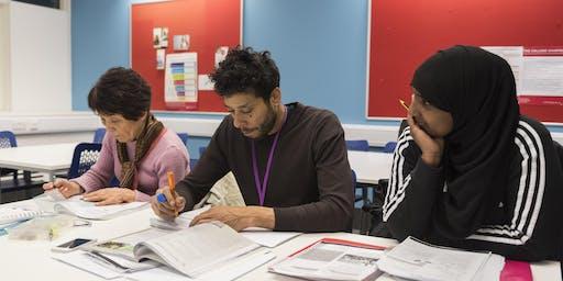 Initial Assessment, English Language Courses, Southwark College, SE1 8LF, April _ June 19
