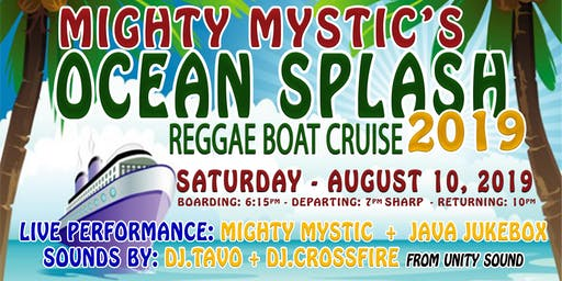 OCEAN SPLASH ** REGGAE SUMMER BOAT CRUISE 2019