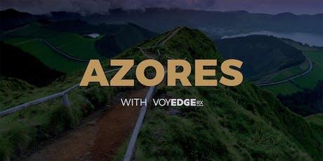 Azores w/VoyEdge RX bilhetes