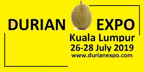 Durian Expo 2019 tickets