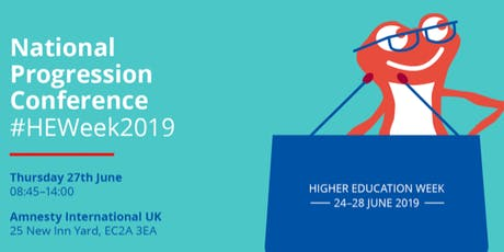 Higher Education Week 2019: National Progression Conference tickets