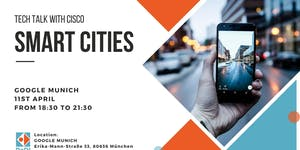 "ReDI TECH TALK with CISCO: ""SMART CITIES"""