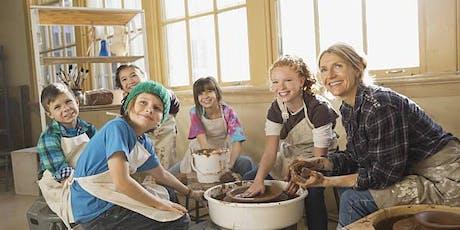Pottery After School - Toronto Kids Art Class tickets